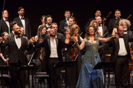 Giulietta e Romeo 14.5.2016Xavier Sabata, Franco Fagioli, Ann Hallenberg